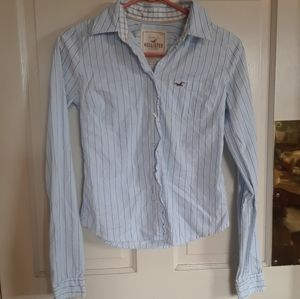Hollister Striped button-down
